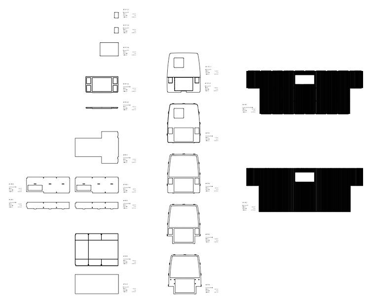 Plugin Caravan | MUH  | Einzelteile CAD