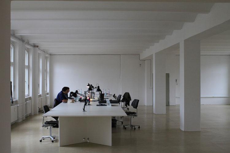 Dorten Büroausbau | MUH | Blick ins Großraumbüro