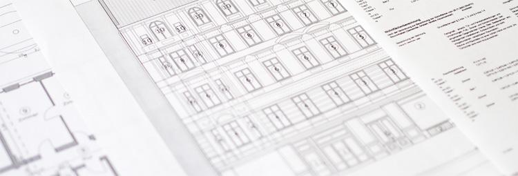 Teilungserklärung - Pläne und Flächenberechnung