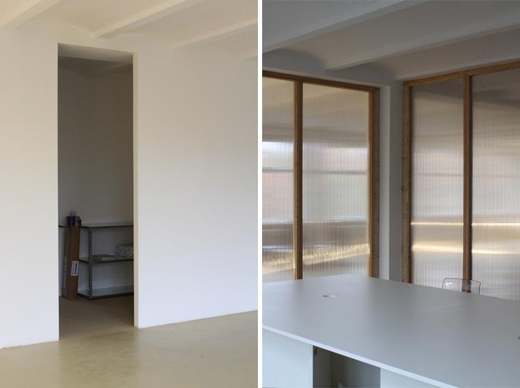 Dorten Büroausbau | MUH | Besprechungsraum Innen / Serviceräume