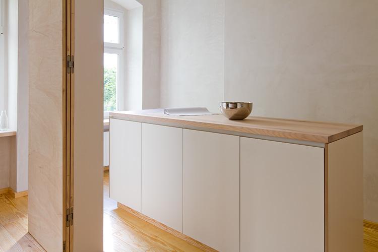 MUH | Büroerweiterung | Küchenblock im Besprechungsraum