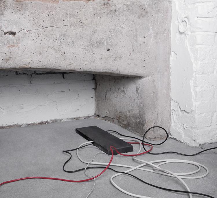 Muh Umbau 1 | Installationen im Boden